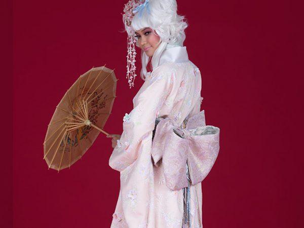 Vestidos de casamento com inspiração japonesa da pó de arroz