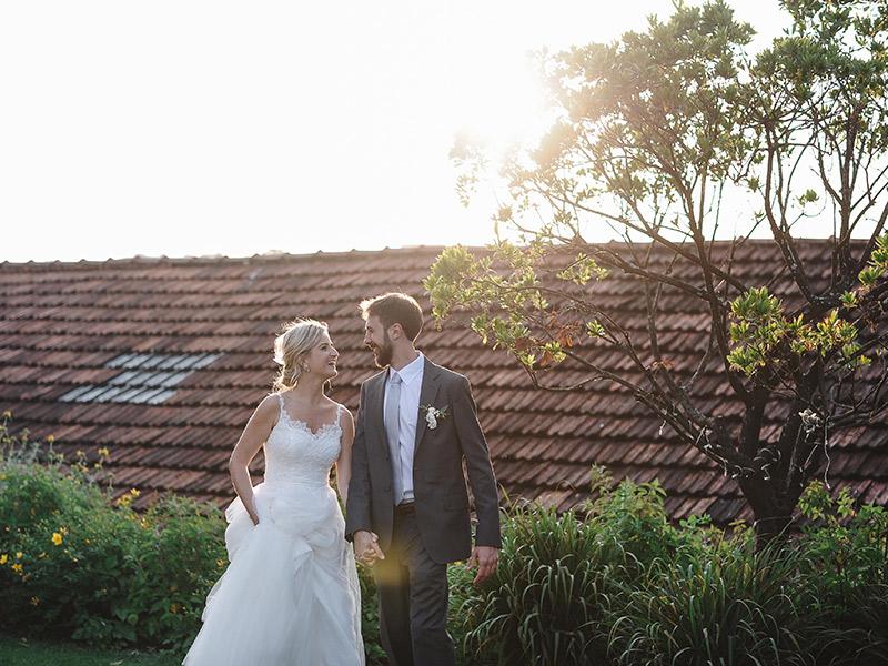 Casamento em Portugal Natalie e João Paulo sorrindo um para o outro