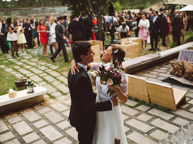 Casamento no hotel Rio do Prado em Portugal