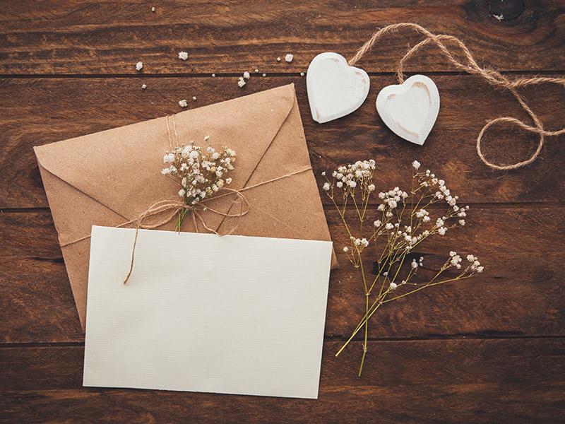 Como organizar um casamento convite para entrega