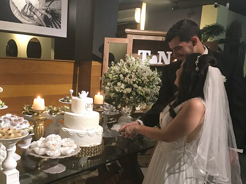Mini wedding Rio de Janeiro no restaurante Nomangue