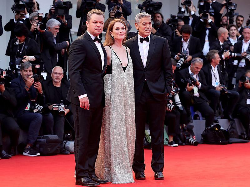 Trajes de casamento atores no red carpet de black tie