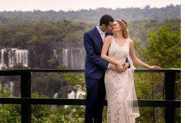 Casamento ao ar livre de Ana e Tassir