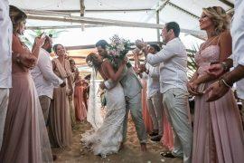 Casamento na praia Maya e Frederico