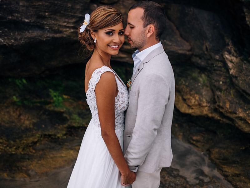 Casamento real Bruna e Filipe na praia de São Sebastião