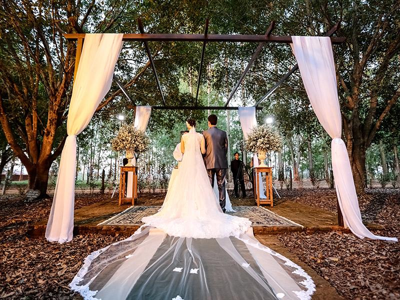 Casamento real Bruna e Thiago cerimônia