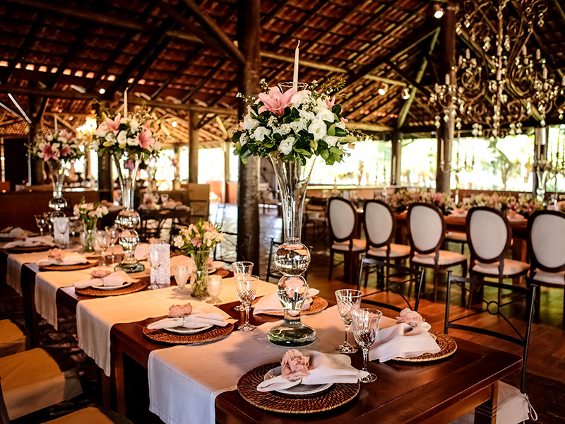 Casamento real Bruna e Thiago decoração da festa