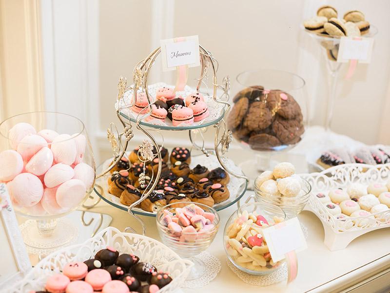 Decoração de mesa de doces como montar