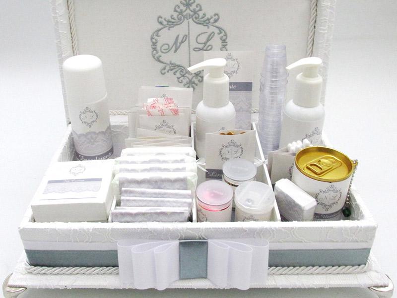 Kit festa casamento como montar kit higiênico