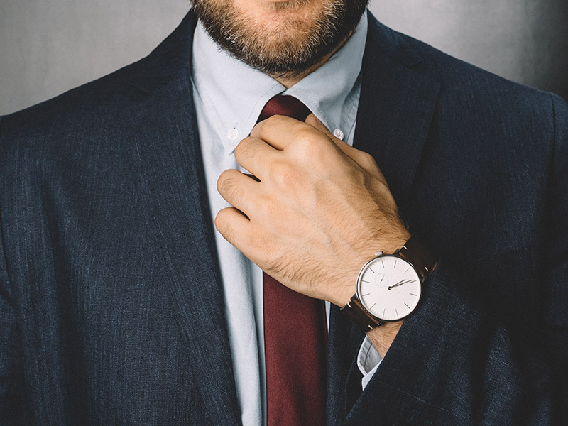 Roupa de noivo como usar relógio