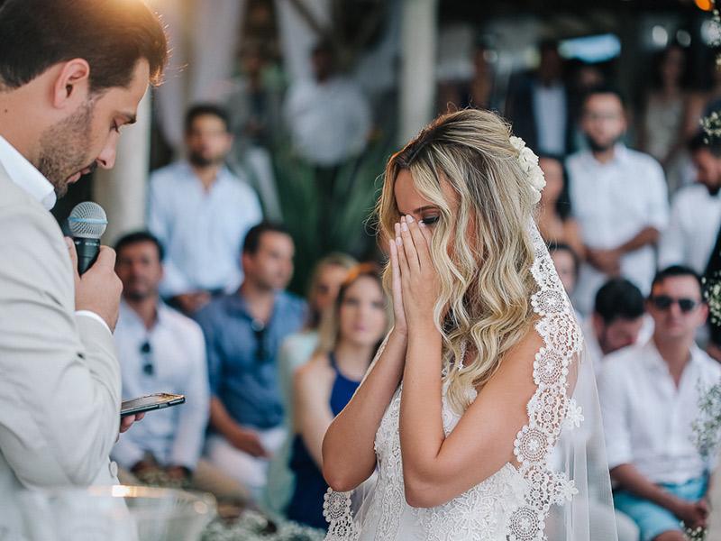 casamento na praia cerimônia