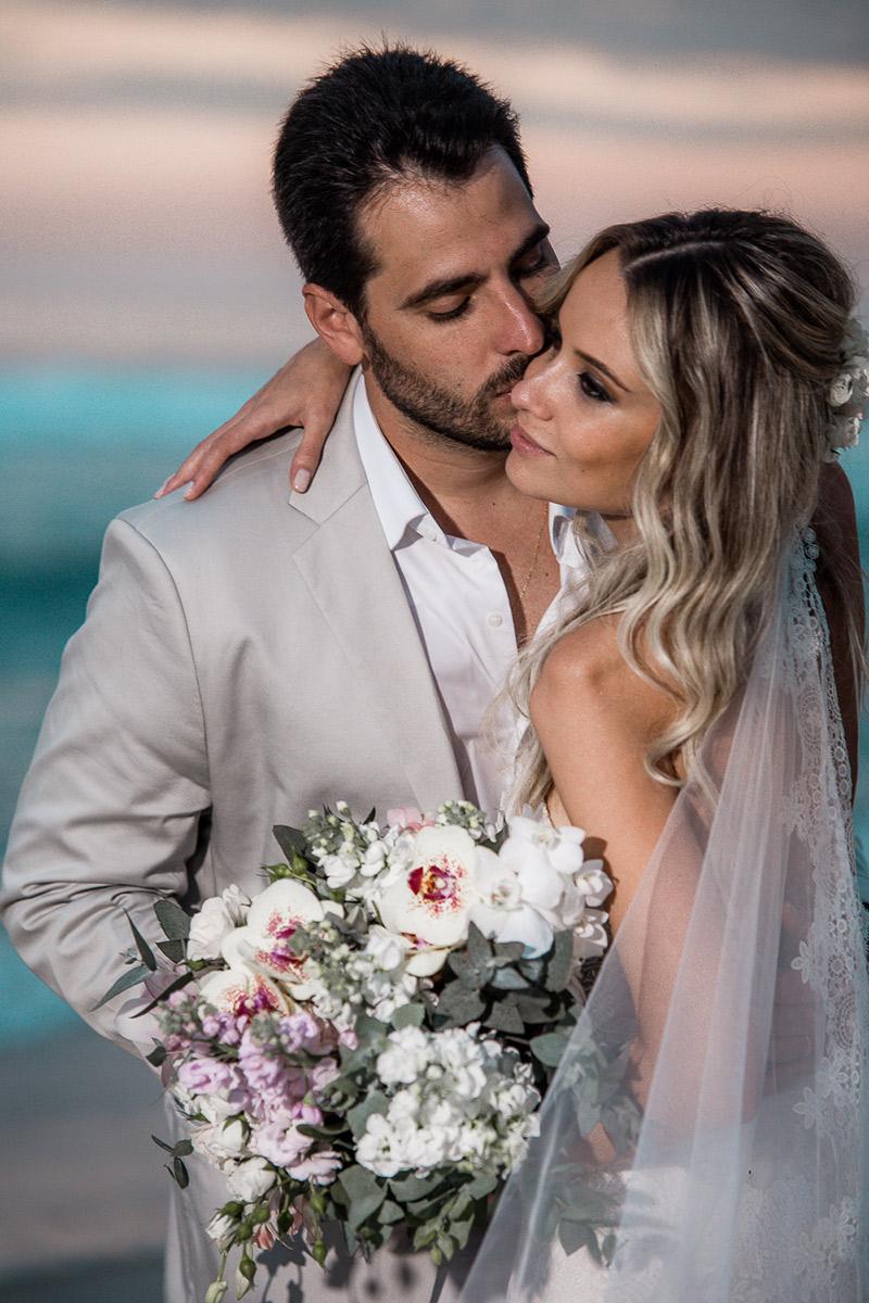 casamento na praia foto