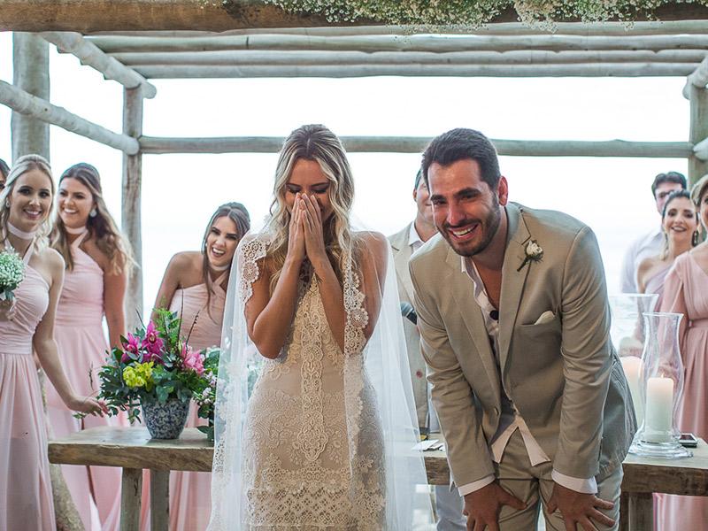 casamento na praia noiva
