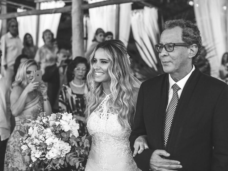 casamento na praia pai da noiva