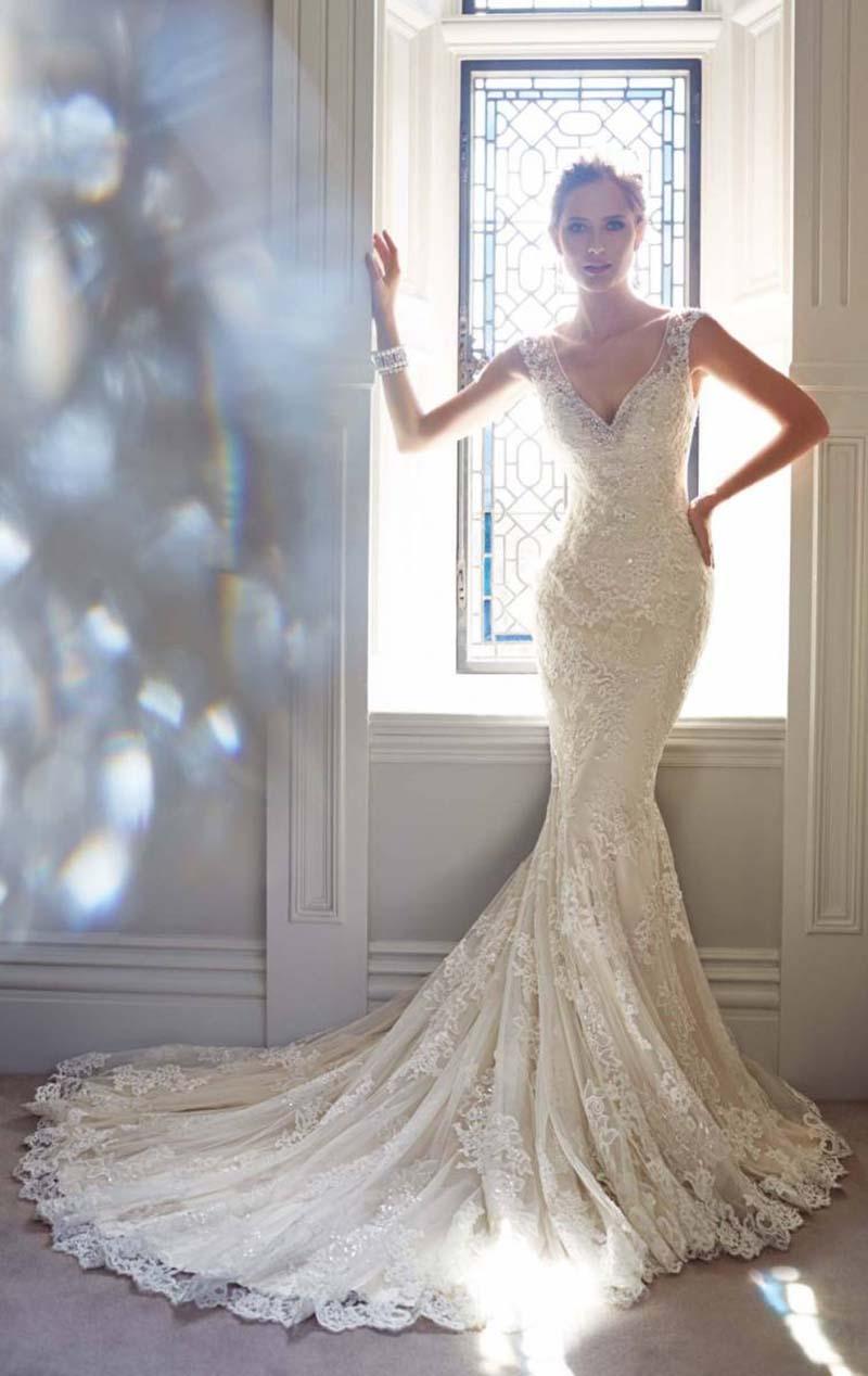 vestido de noiva para venda no site Enjoei