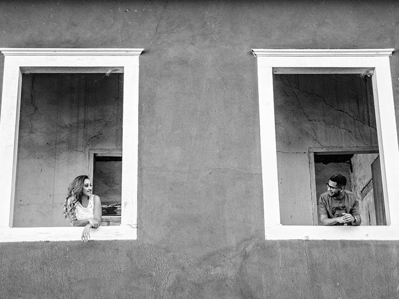 Casamento DIY Tafate e Wellington em prédio antigo
