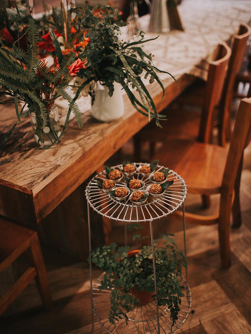 Casamento boho decoração