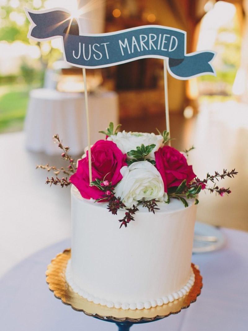 Decoração de casamento 2018 bolos ovais