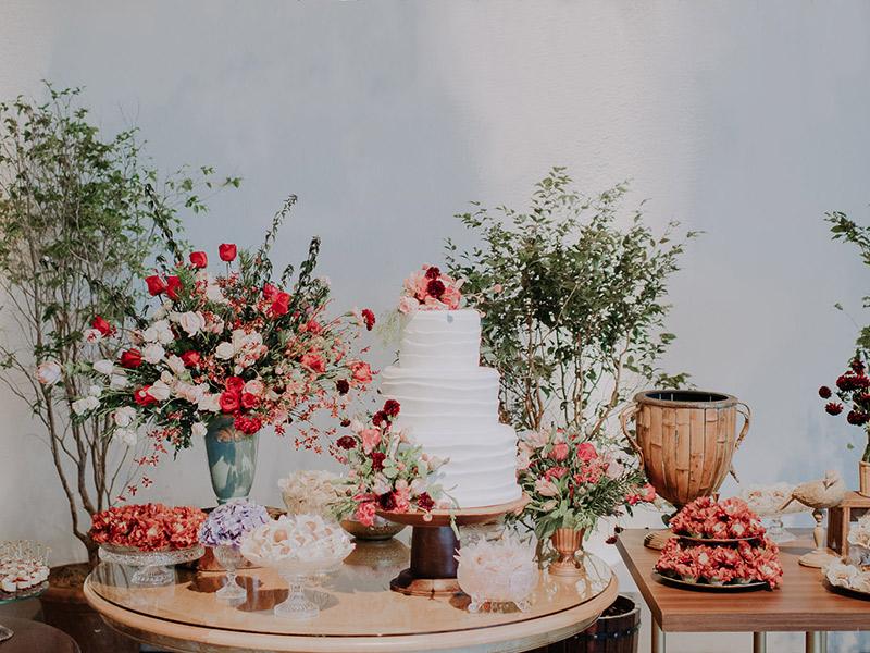Decoração de casamento 2018 tons terrosos e rosáceos