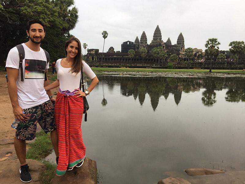 be46fa717 Lua de mel na Tailândia