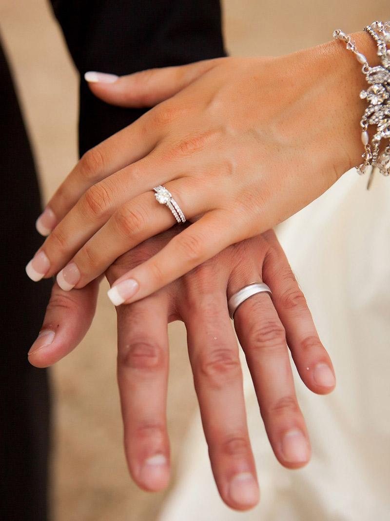 8c8b0dcfc59 Aliança de casamento escolha dos noivos
