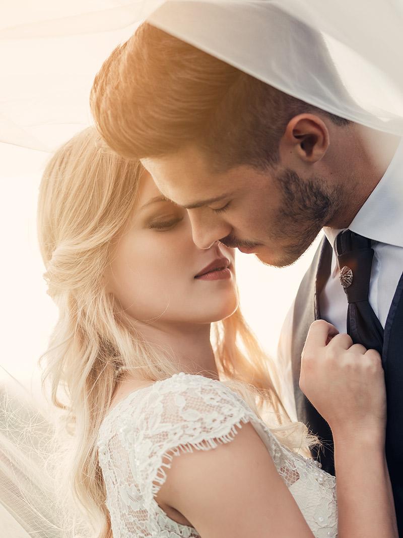 Aliança de casamento união e fidelidade