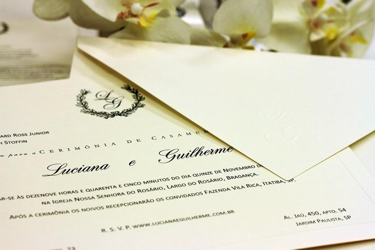 Excepcional Como escolher o convite de casamento? 6 top estilos para inspirar! SV67
