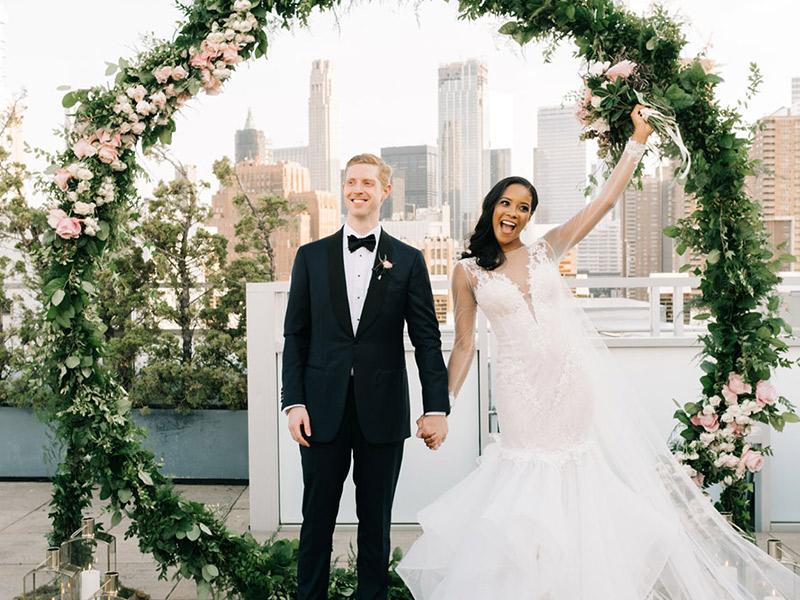 Decoração de casamento estilo do casal