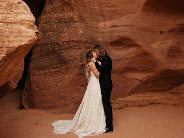 Elopement wedding tendência do casamento a dois