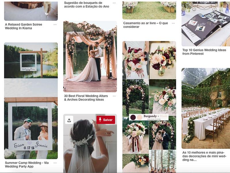 Pinterest como manter o foco do que procurar