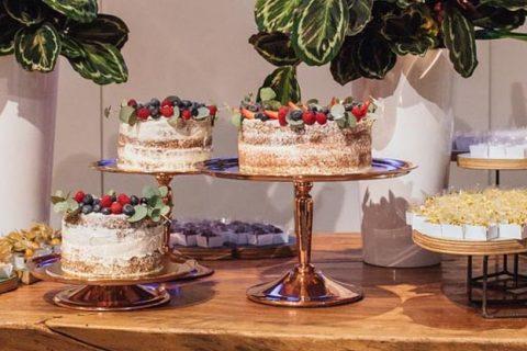 Menos é mais: bolo de casamento simples e gostoso para o casamento