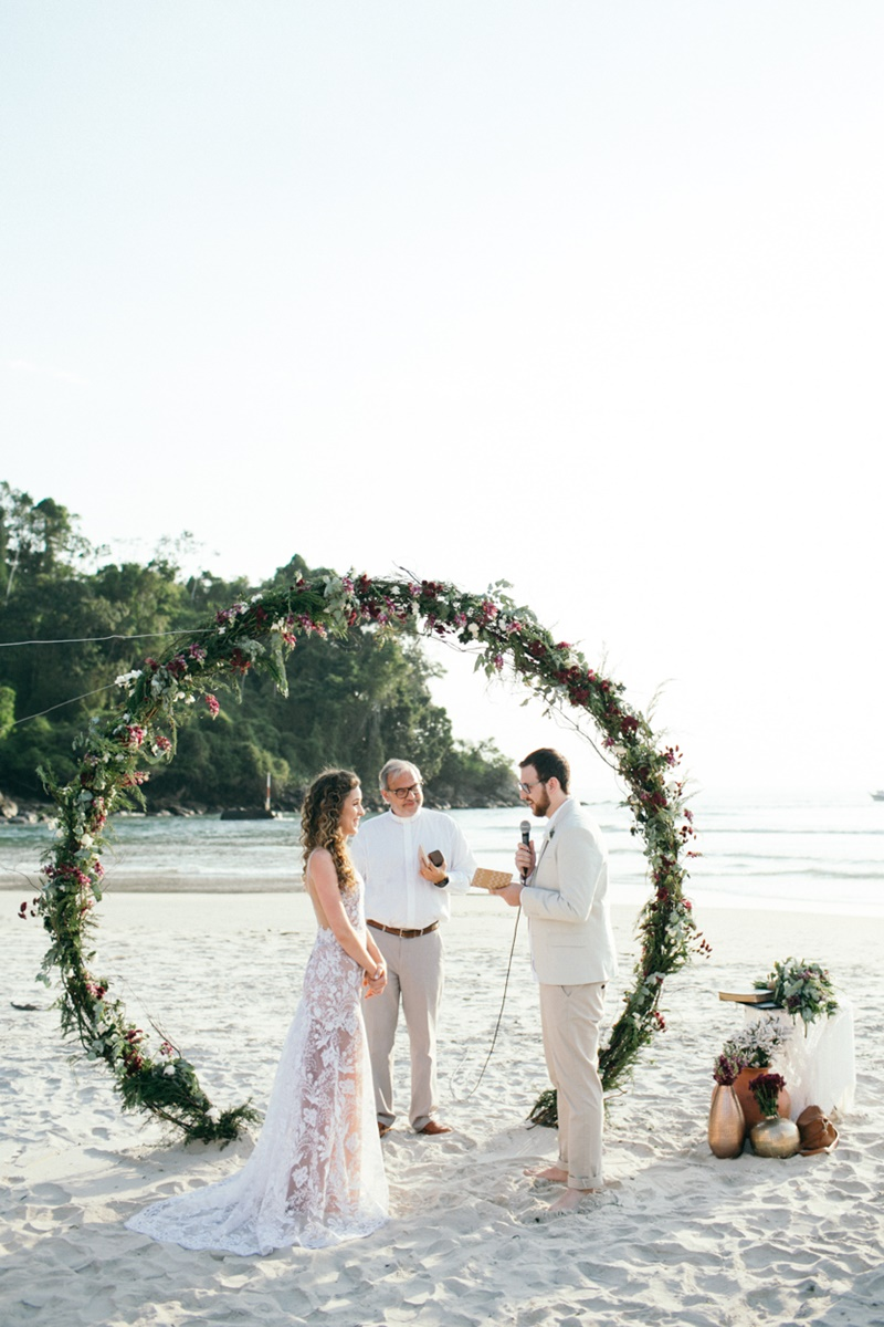 Elopement wedding