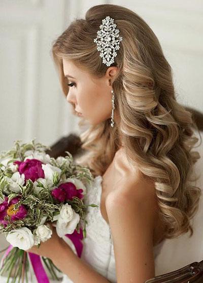 penteados para noivas inspirações