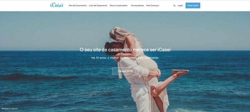 Site de casamento iCasei