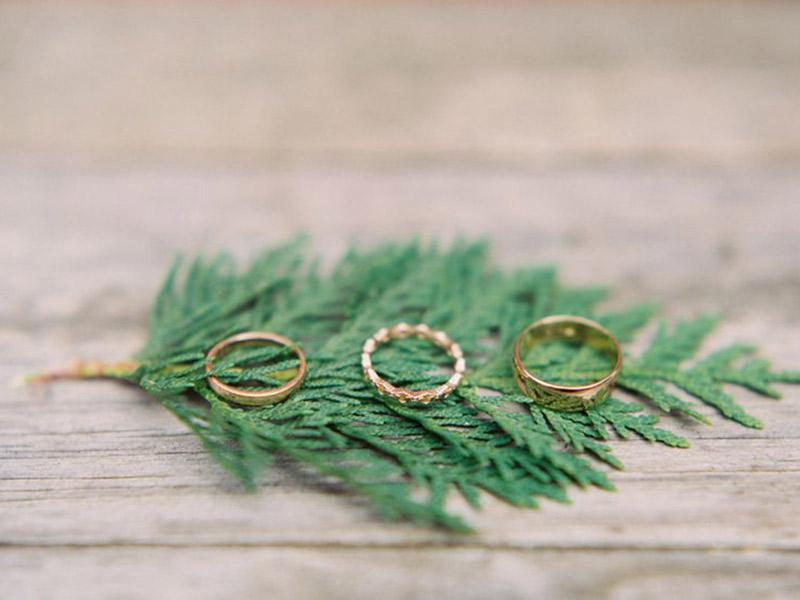 Aliança de casamento de ouro qual modelos escolher