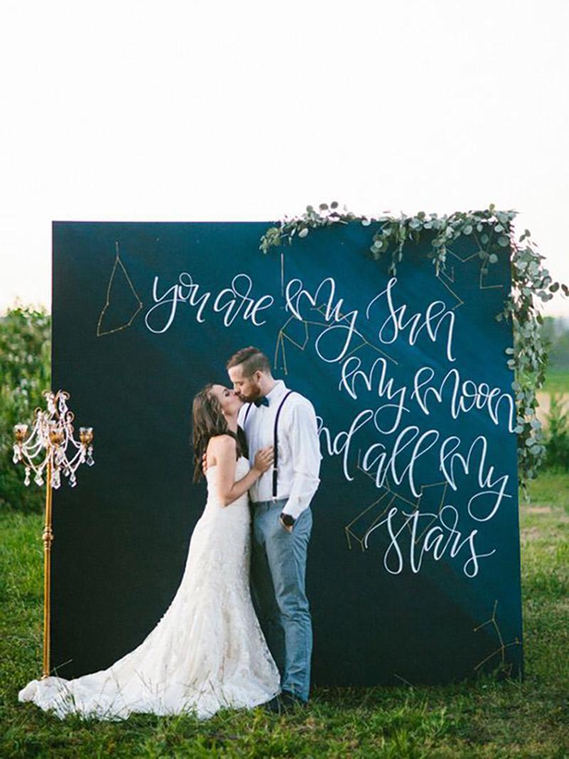 Backdrop de casamento frases de fundo