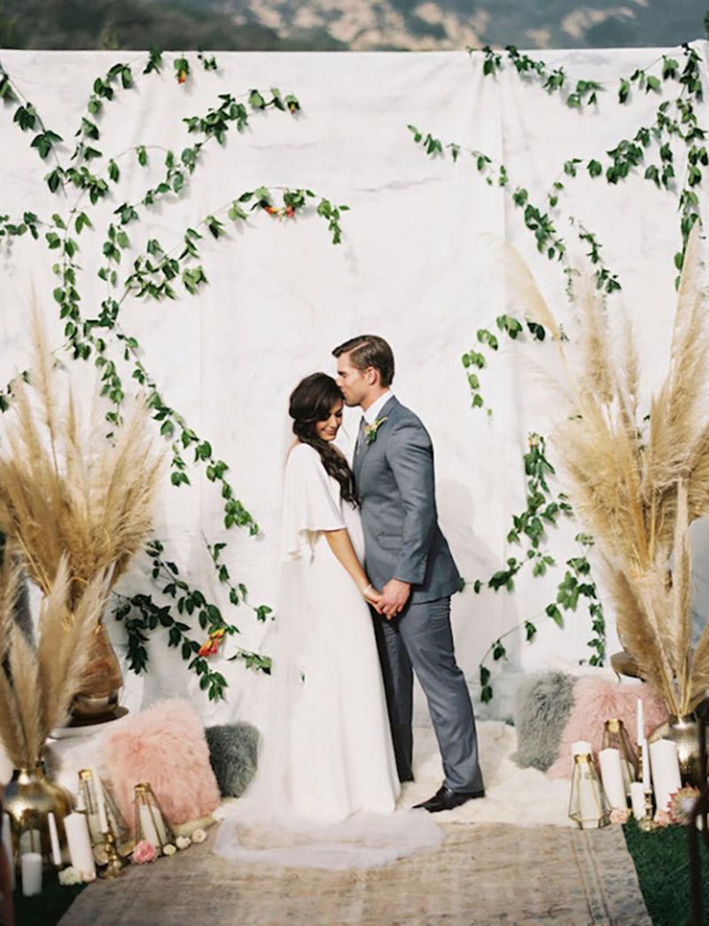 Backdrop de casamento o que é?