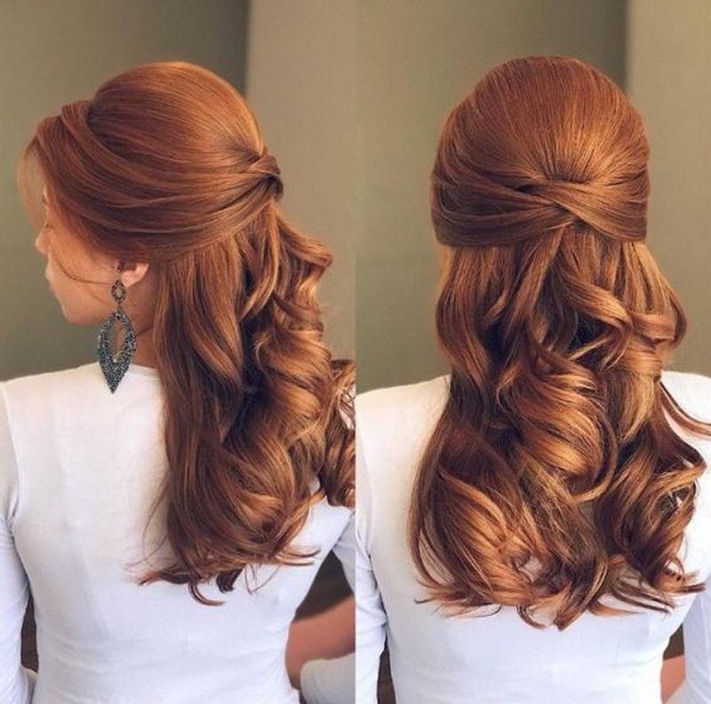 penteados para madrinha de casamento soltos