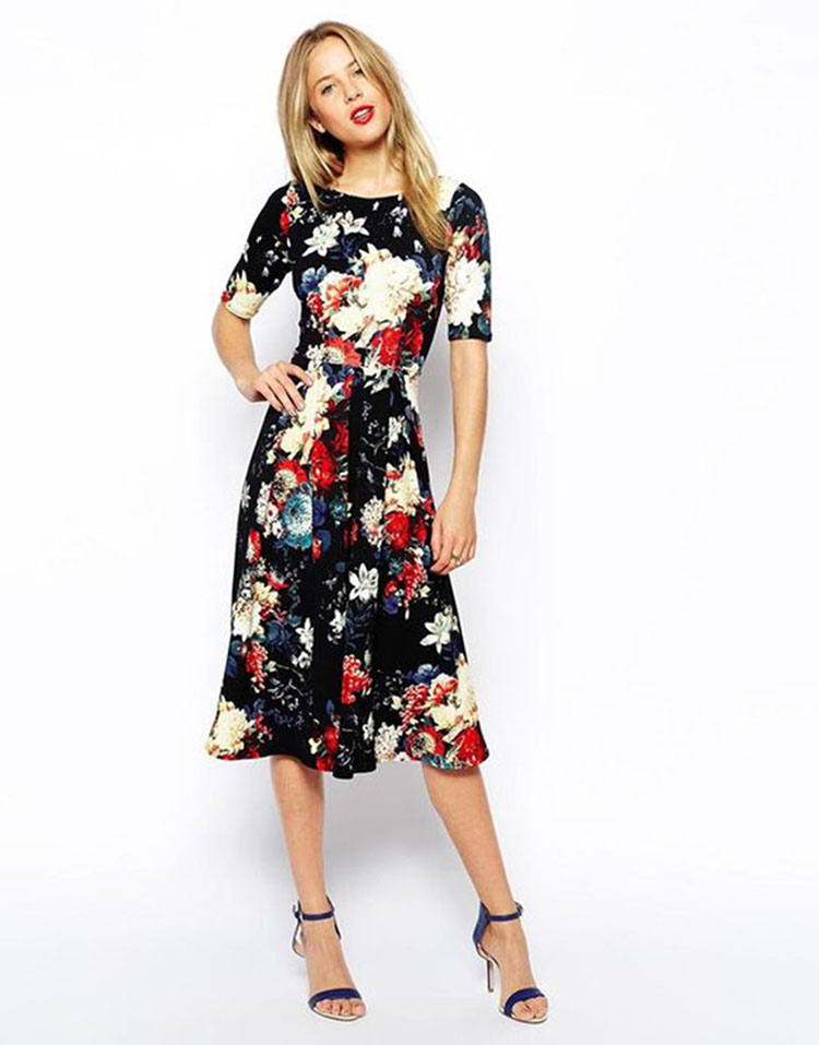 vestido-de-festa-curto-ideias-para-arrasar-no-casamento- vestido florido2