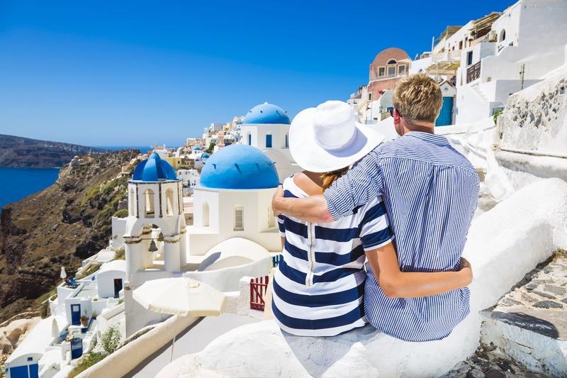 casal na Grécia