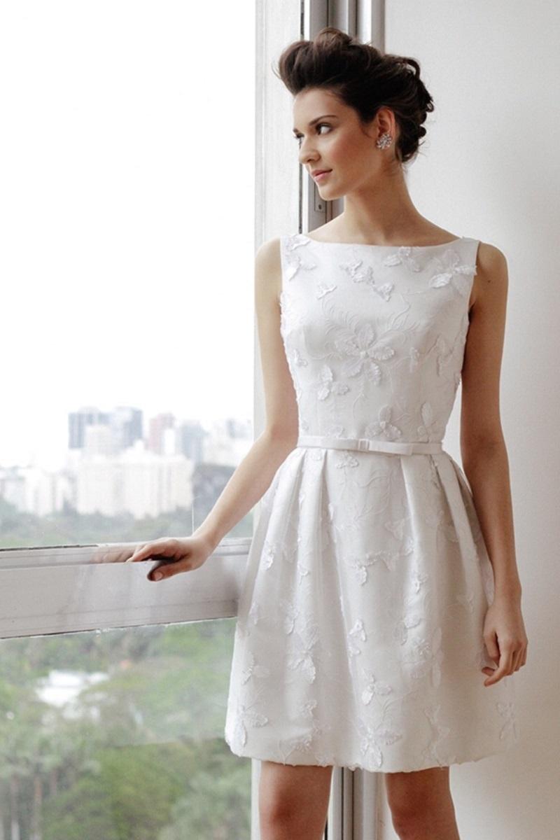 1c1363c793 30 inspirações de vestido de noiva curto