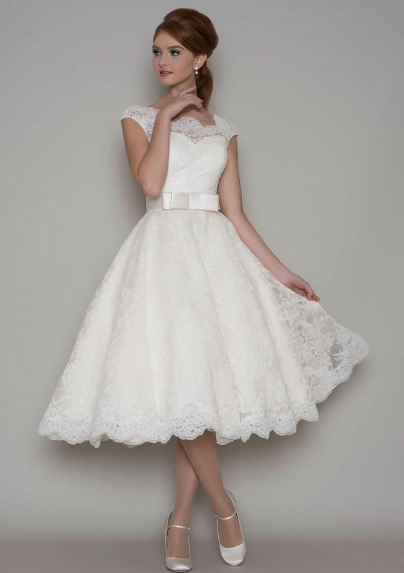 30 inspirações de vestido de noiva curto - photo #45