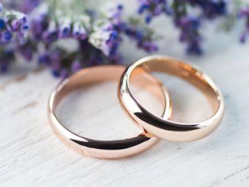 Aliança de casamento de ouro qual escolher
