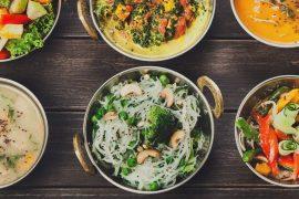 Cardápio para casamento opções veganas sem glúten e lactose