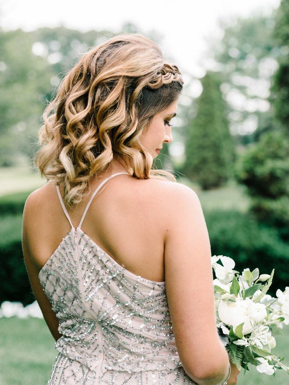 penteados para casamento para cabelos curtos