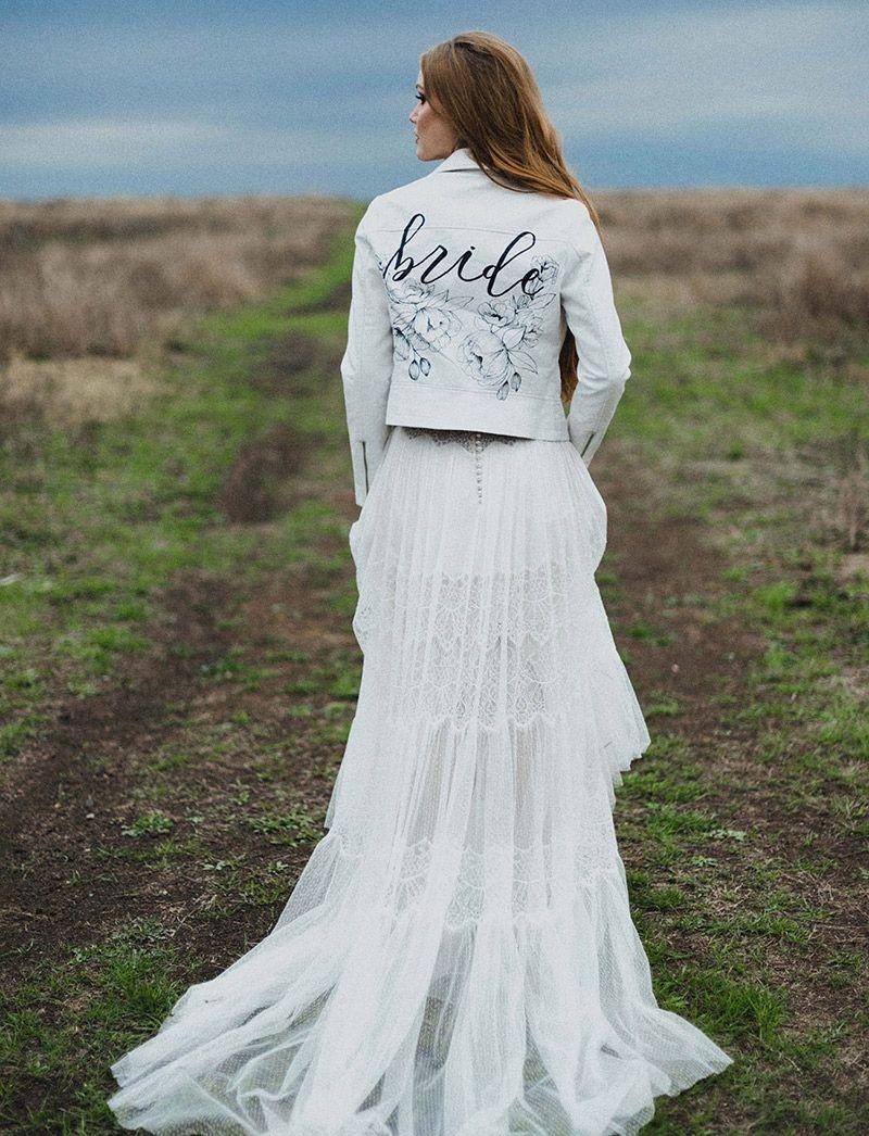 Jaquetas personalizadas para casamento off white