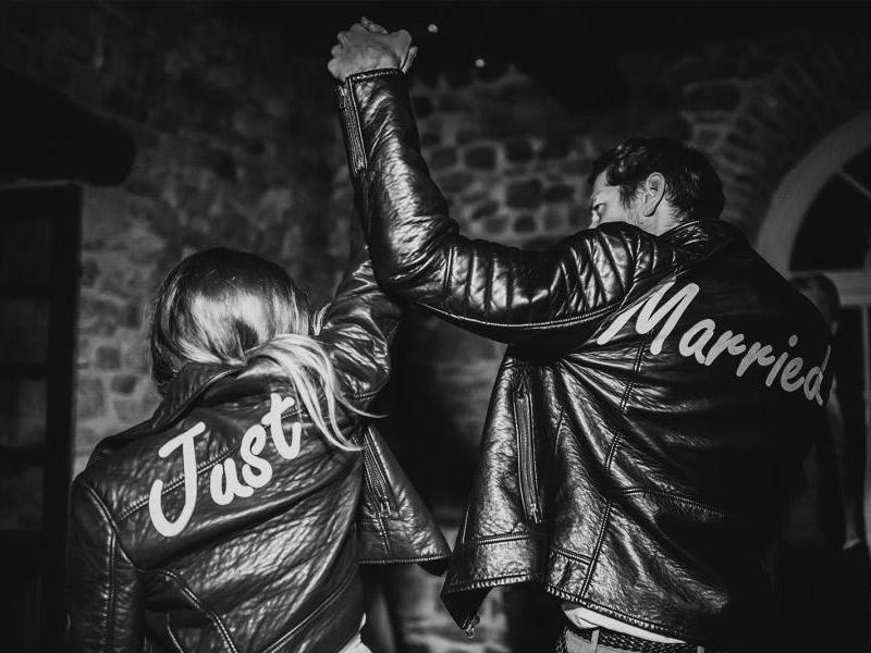 Jaquetas personalizadas para noiva guardar como lembrança