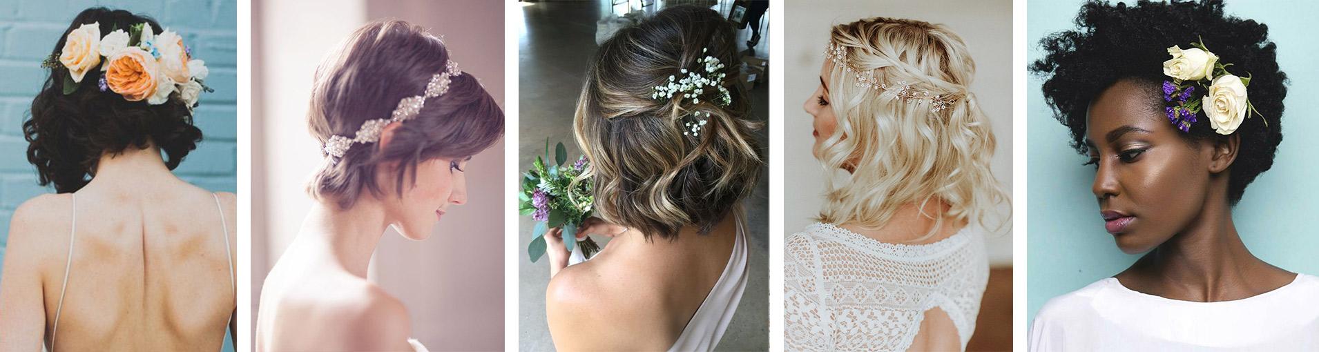 Top 25 Penteados Para Cabelos Curtos Para Casamento