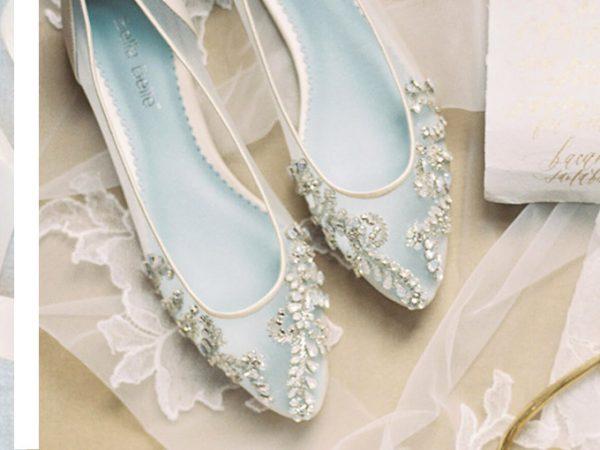 Sapatilha para noiva elegante e confortável