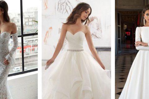 21 estilos de vestidos de noiva para amar!
